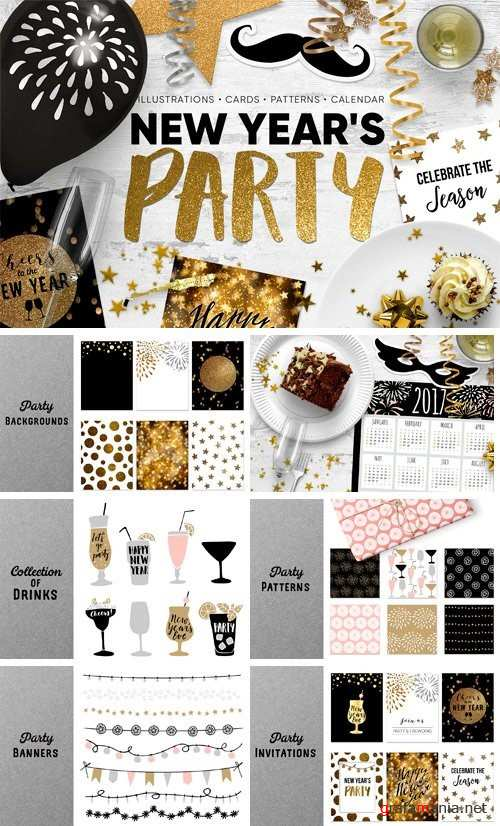 New Year's Party Set - 1082080