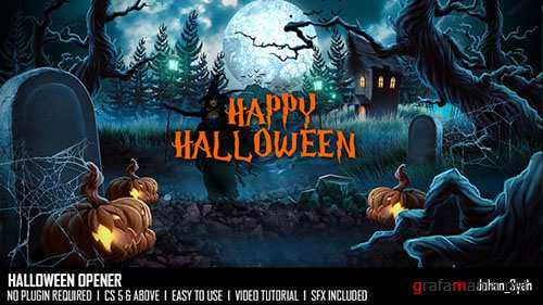 Halloween Opener 18495828 - Project for After Effects (Videohive)