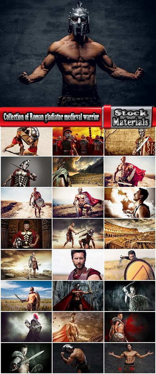 Collection of Roman gladiator medieval warrior a Spartan armor sword shield 25 HQ Jpeg