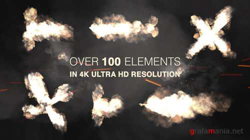 Muzzle Flash - Real Gun Shots Pack - Motion Graphic (Videohive)