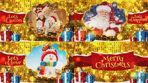 Merry Christmas Gold - After Effects Project (Videohive)