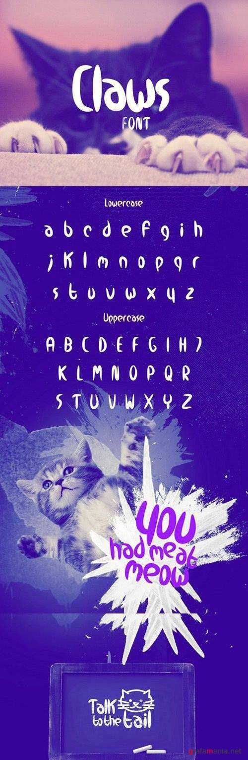 Claws Font