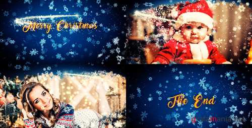 Merry Christmas Slideshow - Project for After Effects (Videohive)