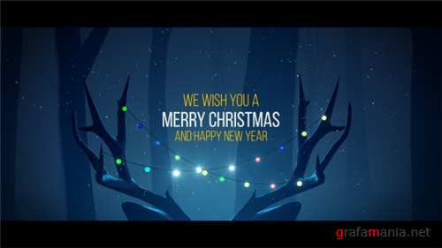 Christmas Deer - After Effects Project (Videohive)