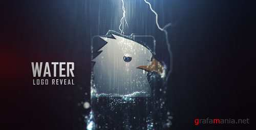 Water Logo Reveal - Project for After Effects (Videohive)