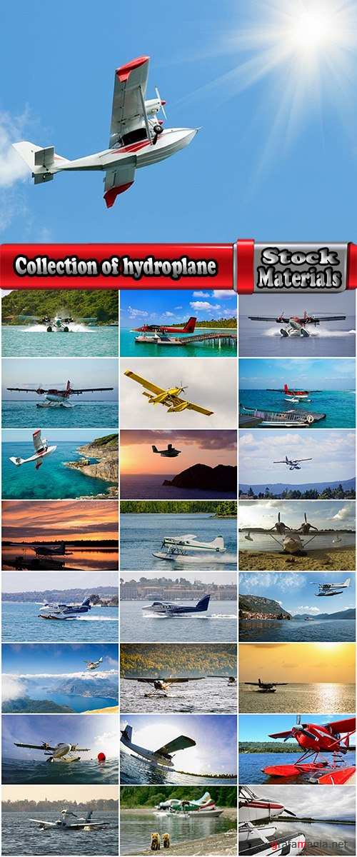 Collection of hydroplane seaplane aircraft 25 HQ Jpeg
