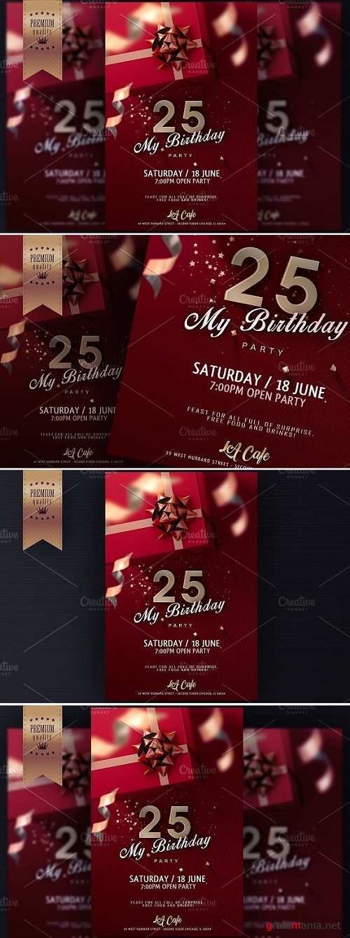 Birthday Invitation Flyer - 1139530