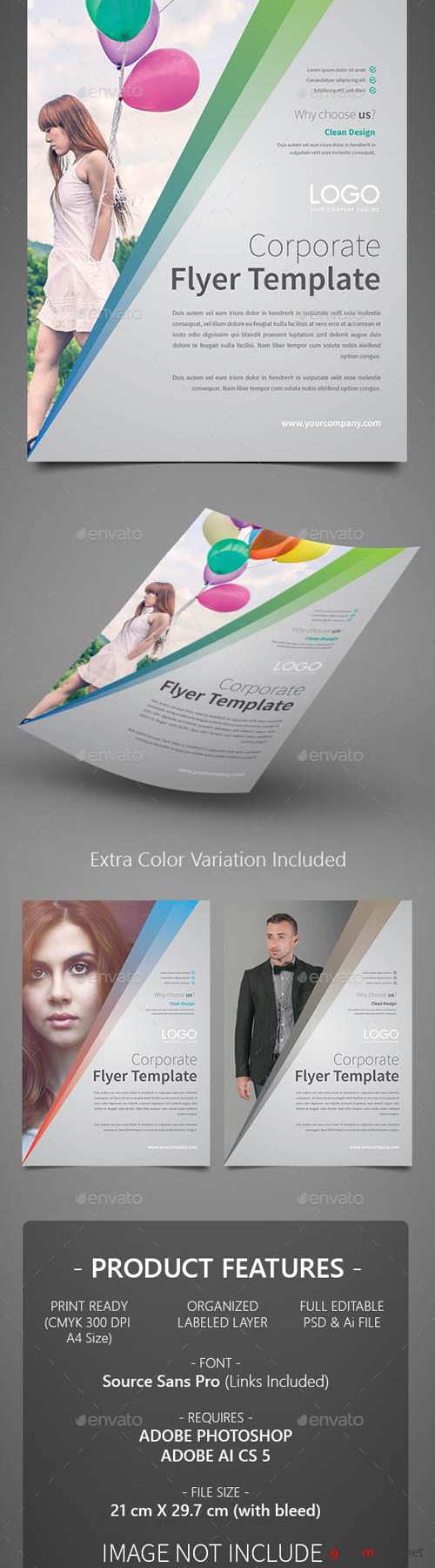 Corporate Flyer Template 8 15705768