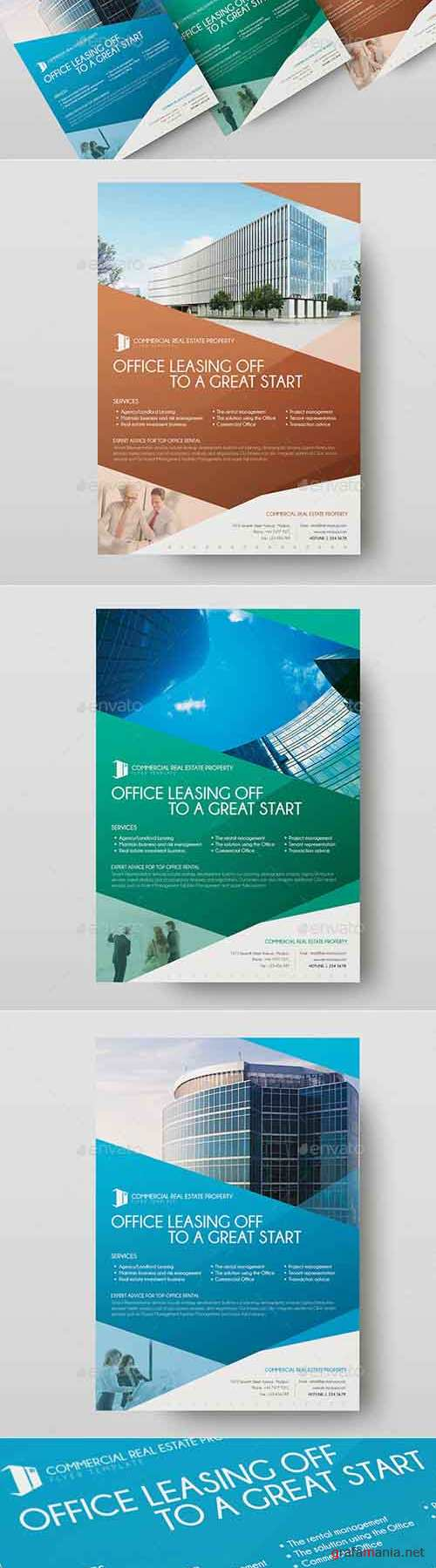 Commercial Real Estate Property - Flyer Template 01 12013590