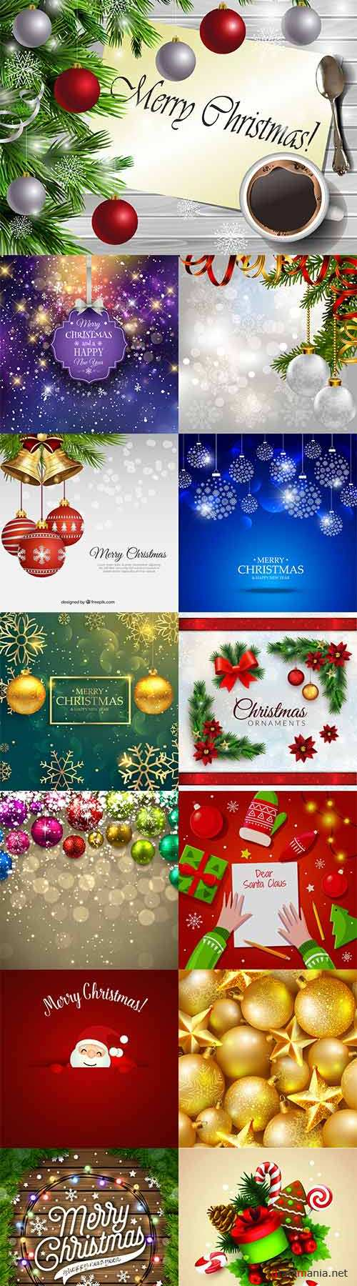 Christmas vector set 5