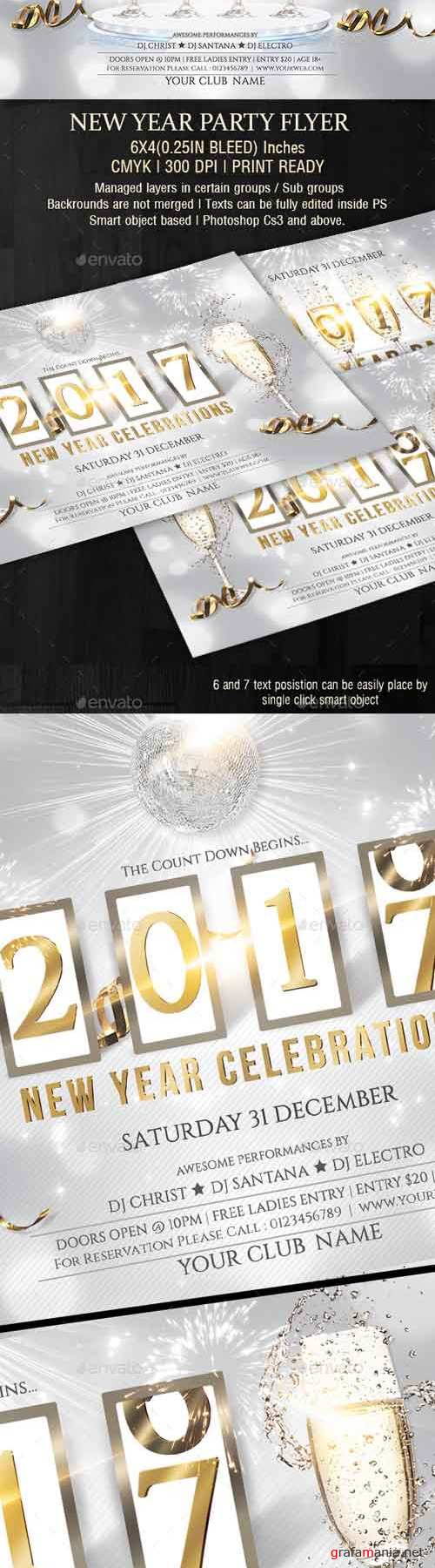 GR - New Year Party Flyer - 19047483
