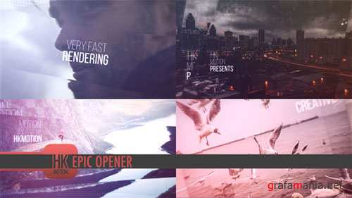 Epic Opener 19161016 - Project for After Effects (Videohive)