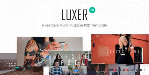 Luxer - Creative Multi-Purpose PSD Template 18841648
