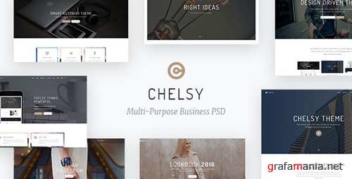 Chelsy | Multi-Purpose Business PSD Template 13688586