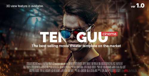 Tenguu Cinema - Movie Theater Template 15249765