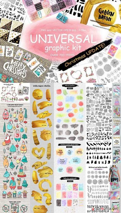 Universal graphic + Christmas kit 988848