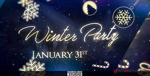 Winter After Party - Project for After Effects (Videohive)
