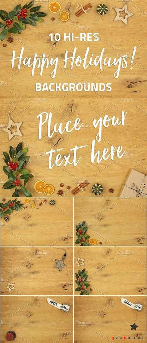 Happy Holidays - 10 backgrounds 1146540