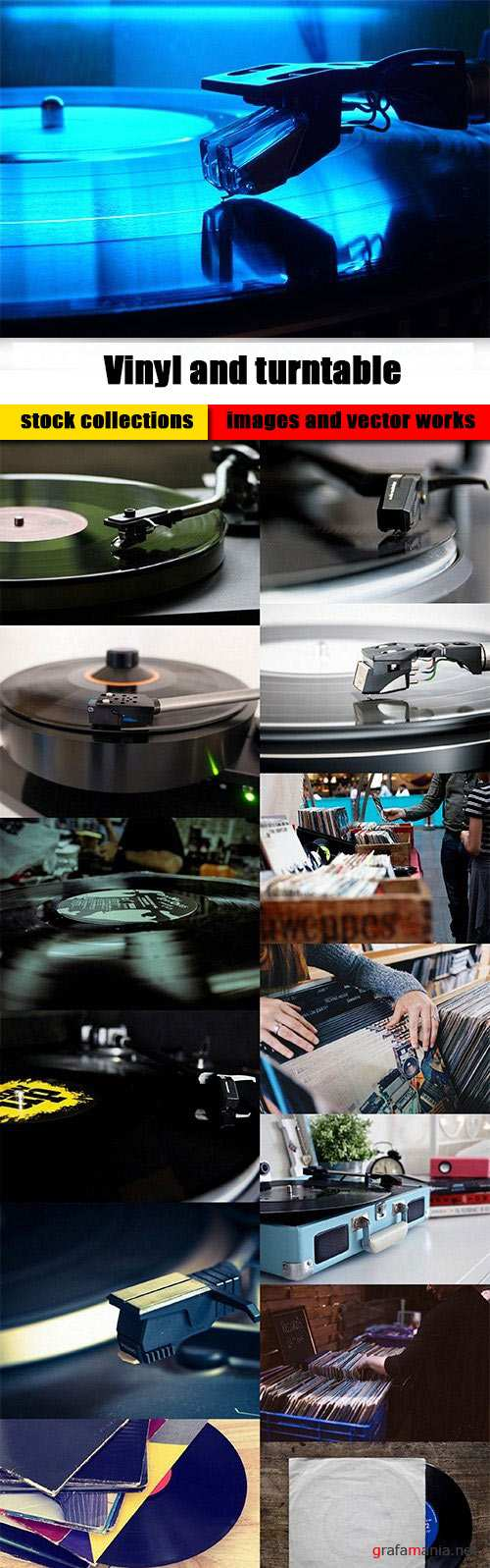 Vinyl and turntable