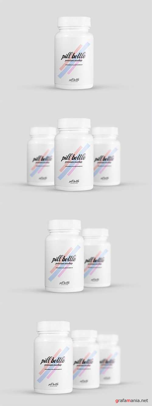 Pill Bottle Mock-Ups