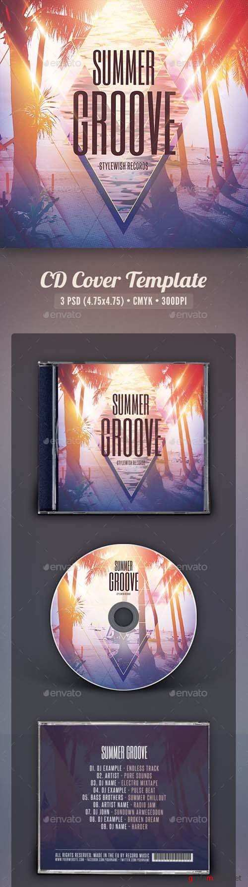 Summer Groove CD Cover Artwork 16437807