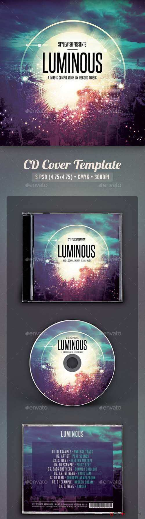 Luminous CD Cover Artwork 15935392