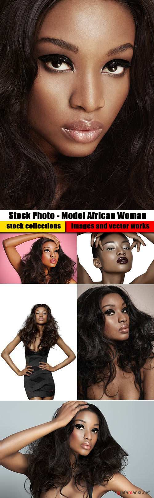 Stock Photo - Model African Woman