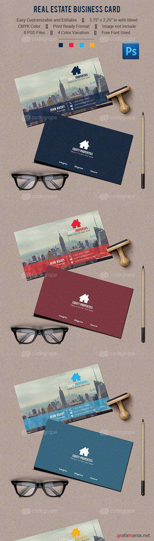 Real Estate Business Card 10880