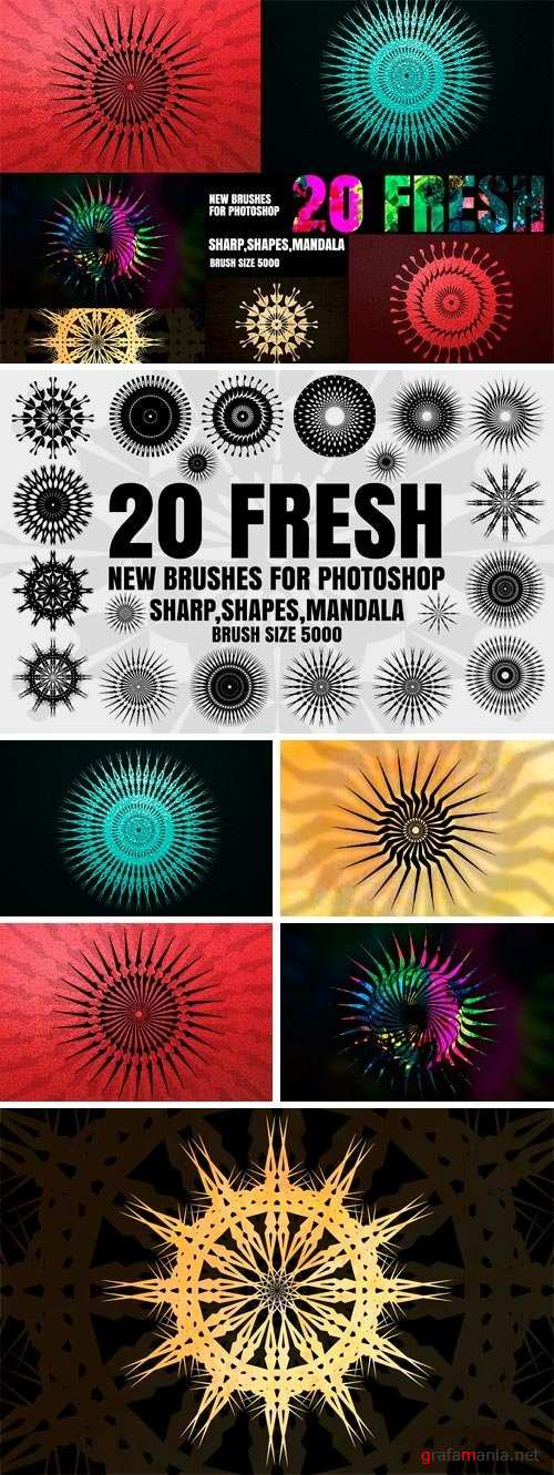20 NEW BRUSHES FOR PHOTOSHOP - 1165861