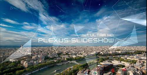 Plexus Slideshow 4K - Project for After Effects (Videohive)