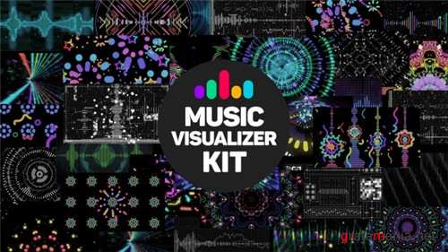 Music Visualizer Kit - After Effects Project (Videohive)