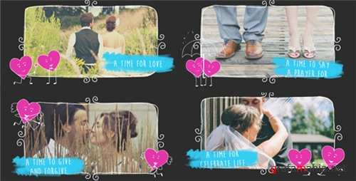 Valentine Love Slideshow - After Effects Project (Videohive)