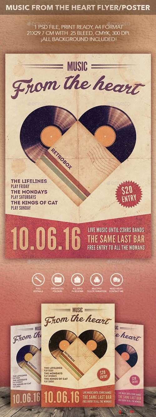 Music From The Heart Flyer Poster - 14089266