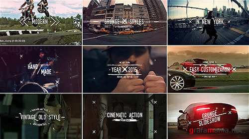 Grunge Vintage Slideshow Titles - Project for After Effects (Videohive)