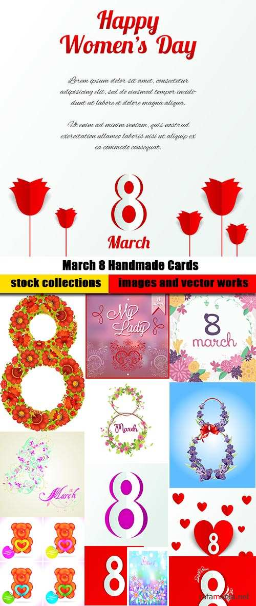 March 8 Handmade Cards