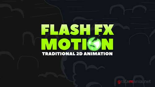 FLASH FX MOTION - Traditional 2d Animated Elements - Project for After Effects (Videohive)