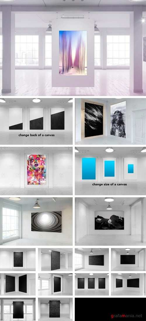Gallery Poster Mock-Up (Day Edition) - 1189353