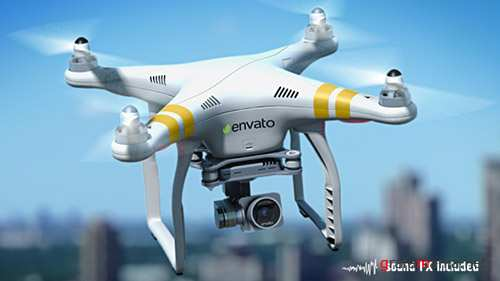 Quadcopter Phantom - Project for After Effects (Videohive)