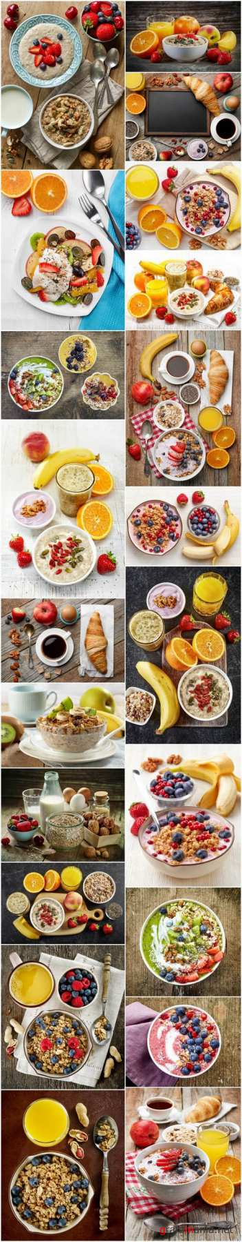 Healthy breakfast ingredients 2 - 21xUHQ JPEG