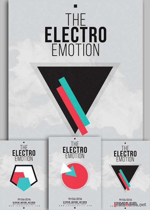 The Electro Emotion V9 Flyer Template