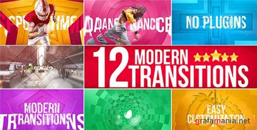Modern Transitions - After Effects Project (Videohive)