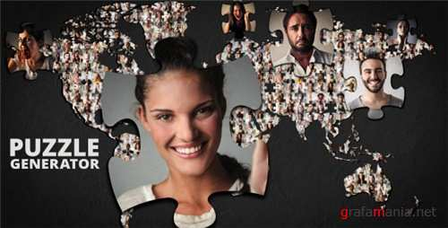 Puzzle Generator - After Effects Project (Videohive)