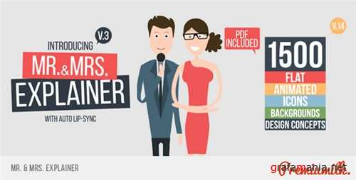 Mr&Mrs Explainer - After Effects Project (Videohive)