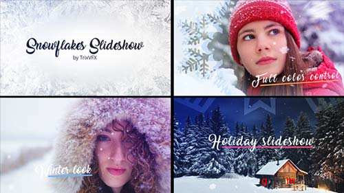Snowflake Slideshow - After Effects Project (Videohive)