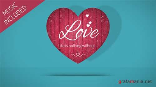 Valentine Hearts - After Effects Project (Videohive)