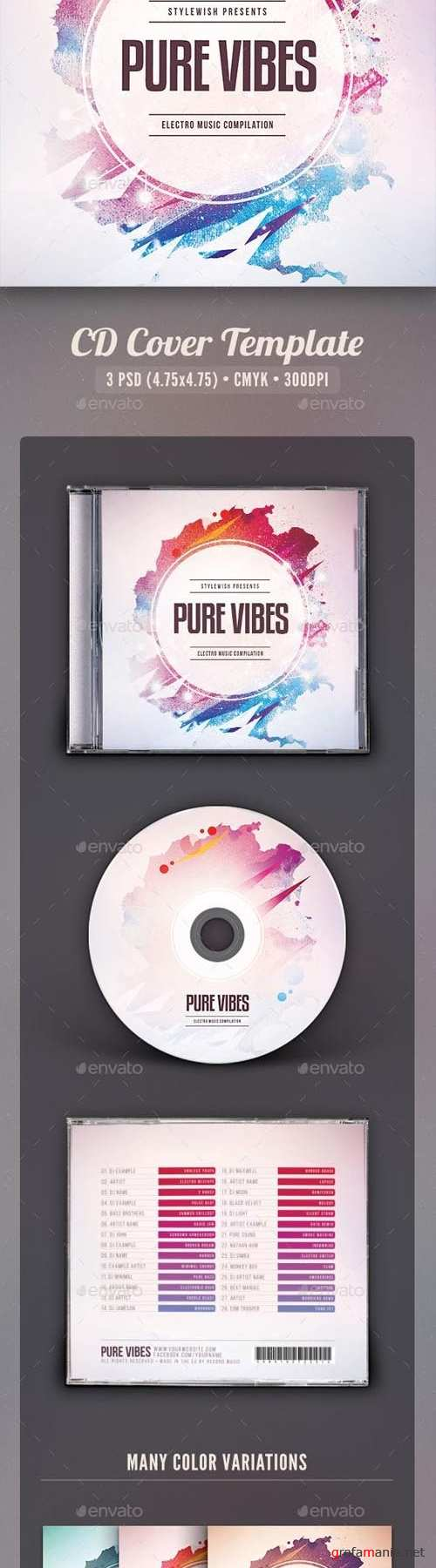 Pure Vibes CD Cover Artwork 16487199