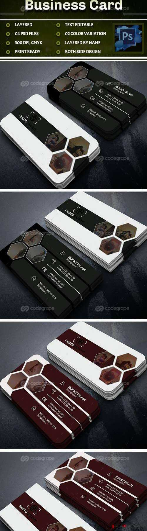 Photography Business Card 11233