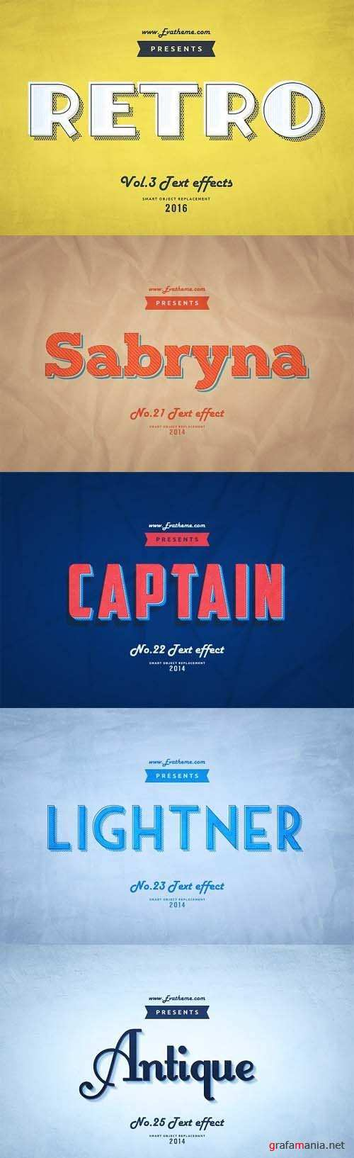 Retro Style Text Effects Vol.3 - 1214556