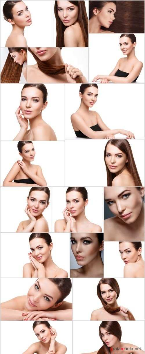 Beautiful young woman - Set of 20xUHQ JPEG Professional Stock Images