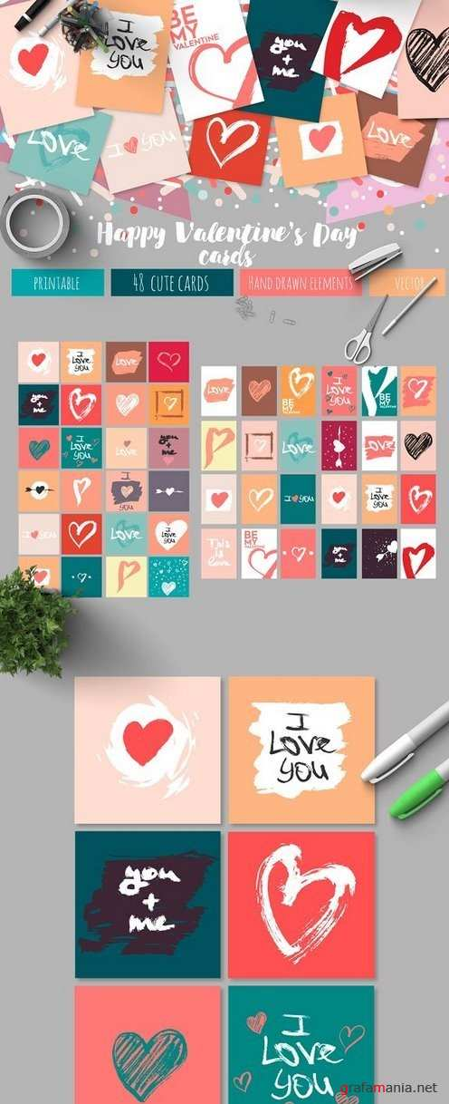 Valentine's Day Cards - 1208761